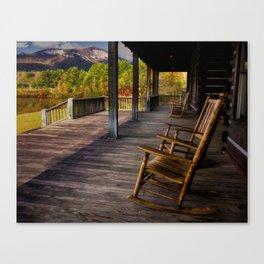 Back Porch View Canvas Print