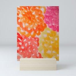Sunny Day Dahlias Mini Art Print