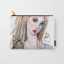 Girl and Friends Carry-All Pouch