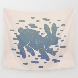 Lepus Constellation: Pastel Wall Tapestry