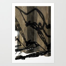 Shadow in Hackney2 Art Print