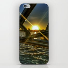 Wakesurfing Mission Bay CA iPhone Skin