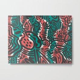 WaterdoodleMelon Metal Print