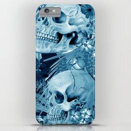 tropic skull iPhone Case