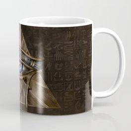 Egyptian Eye of Horus - Wadjet Digital Art Coffee Mug