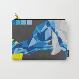 Geo Wolf Carry-All Pouch