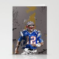 football Stationery Cards featuring Football by Maurice Zombie