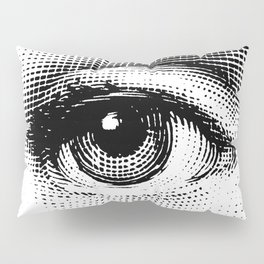 Lina Cavalieri - right eye Pillow Sham