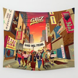 griz good will prevail 2021 Wall Tapestry