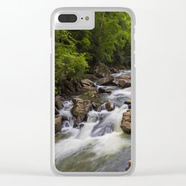Glade Creek Clear iPhone Case