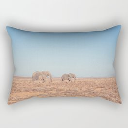 Elephants in South Africa Rectangular Pillow