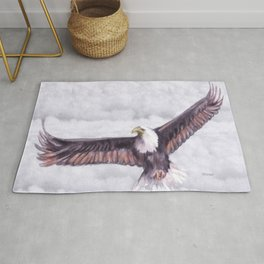 Eagle In The Clouds Rug