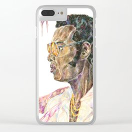 Bobby and the Power of Soul Clear iPhone Case