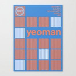 yeoman variant 2 single hop (2018) Canvas Print