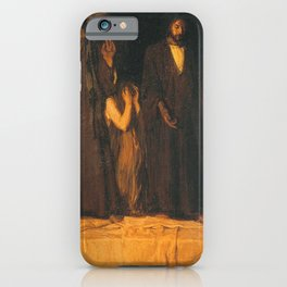 Henry Ossawa Tanner - The Raising of Lazarus iPhone Case