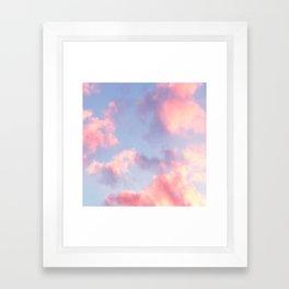 Whimsical Sky Framed Art Print