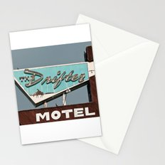 Vintage Neon Sign - The Drifter Stationery Cards