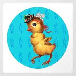 Chicken Meat Art Print