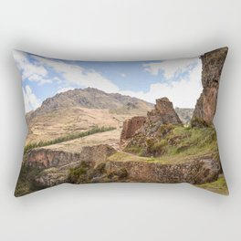 Cuzco Countryside Rectangular Pillow