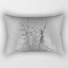 Dancing in the rain Rectangular Pillow