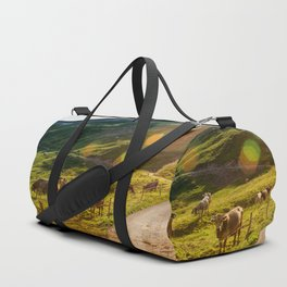 Summer Mountain Pasture Duffle Bag