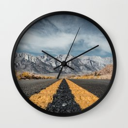 Mount Whitney Wall Clock