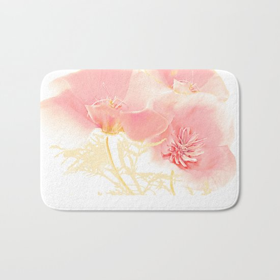 Poppies(gentle) Bath Mat