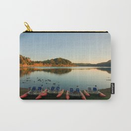 Furnas lake at sunset Carry-All Pouch