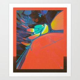 WIDE OPEN (everyday 08.07.16) Art Print