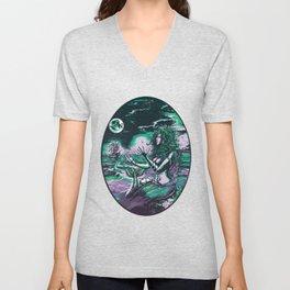 Mermaid Siren Pearl of atlantis mythology Unisex V-Neck