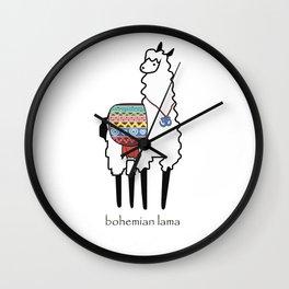 Bohemian Lama Wall Clock