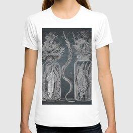 Victorian Zoological Study, Ocean life Specimens - Vintage Art Collage T-shirt