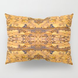 Abstract Kaleidoscope Mineral Crystal Texture Pillow Sham