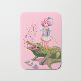 My Pet Crocodile Bath Mat