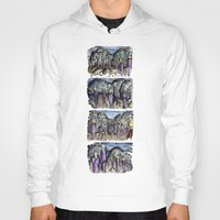 cities Hoodies featuring Cities by Kimmo Rantalainen