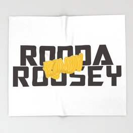 Ronda Rousey Rowdy Throw Blanket