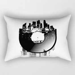 Urban Vinyl of Underground Music Rectangular Pillow