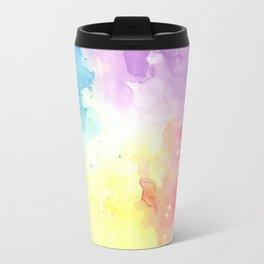 watercolor Travel Mug