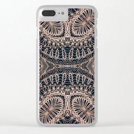 Mehndi Ethnic Style G340 Clear iPhone Case