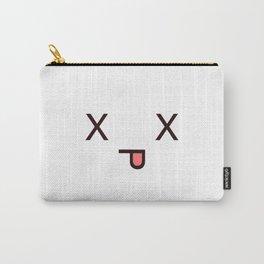 #Dead Face Kawaii Emotion X_X Carry-All Pouch