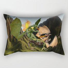 Battle for Dragon Mountain Rectangular Pillow