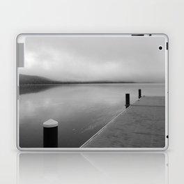 Fishing Pier, Lake McDonald, Glacier National Park, Montana 2013 Laptop & iPad Skin