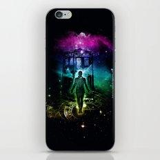time traveller v2 iPhone & iPod Skin