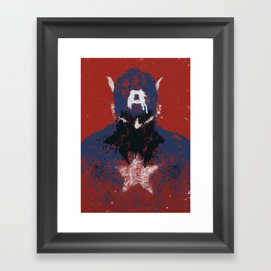The Captain Framed Art Print