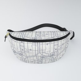 Abstract pattern 4 Fanny Pack