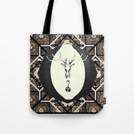 Deer T tile 7 Tote Bag