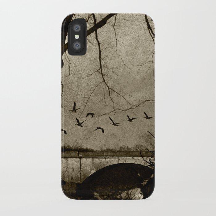 winter study iPhone Case