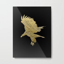 """Golden Boy"" Eagle Design Metal Print"