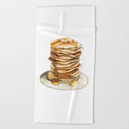 Pancake Beach Towels | Society6