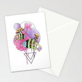 Hornbill Skull - Rainbow Stationery Cards